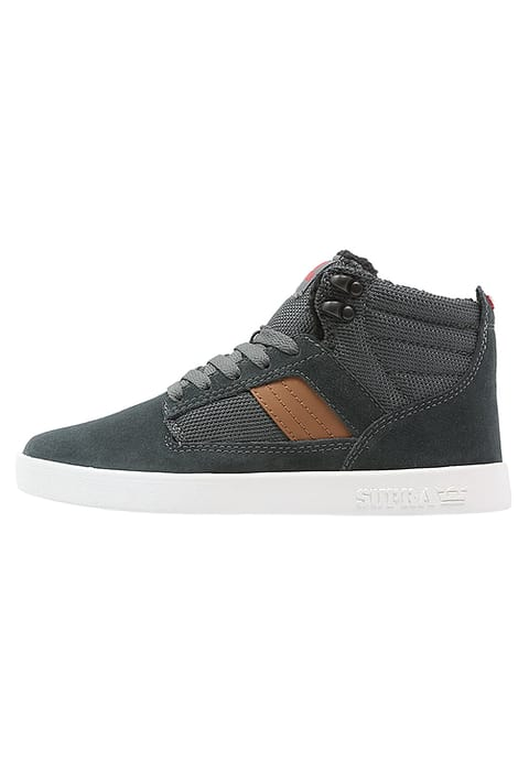 Supra BANDIT Baskets Montante Homme forest Vert/tan/Rouge/Blanc