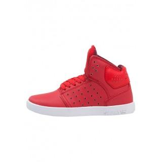 Acheter Supra ATOM Chaussures de skate Rouge/Blanc Enfant