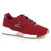 Basket Omega X W Striped Sock Le Coq Sportif Femme Rouge Paris Boutique