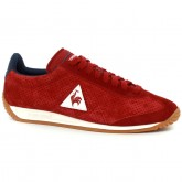 Paris Basket Quartz Perforated Nubuck Le Coq Sportif Femme Rouge Bleu