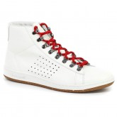 Chaussures AA Mid Blanc Alpin Le Coq Sportif Homme Blanc Promo prix