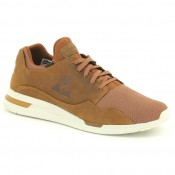 Achat Chaussures Lcs R Pure Pull Up Leather/Mesh Le Coq Sportif Homme Marron