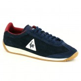 Chaussures Quartz Perforated Nubuck Le Coq Sportif Femme Bleu Rouge Europe